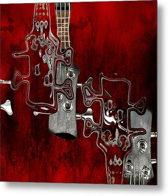 Abstrait En Do Majeur - S02t02b Metal Print by Variance Collections