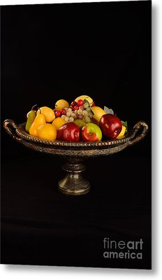 Abundant Fruit Metal Print by Timothy OLeary