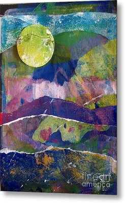 Abundant Moon Metal Print by Corina  Stupu Thomas