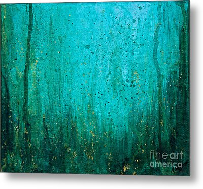 Metal Print featuring the painting Abyss by Melissa Sherbon