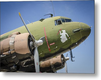 Metal Print featuring the photograph Ac-47 Spooky by Bradley Clay