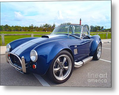Ac Cobra Metal Print by Carey Chen