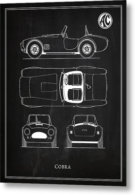 Ac Cobra Metal Print by Mark Rogan