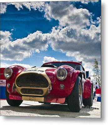 Ac Cobra Metal Print by Mike Hayward