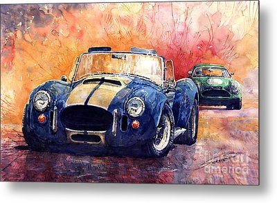 Ac Cobra Shelby 427 Metal Print by Yuriy  Shevchuk