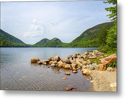 Acadia Bubble Mountains  Metal Print by Trace Kittrell