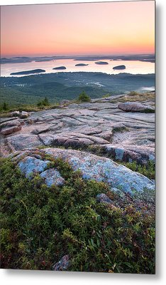 Acadia Morning Metal Print