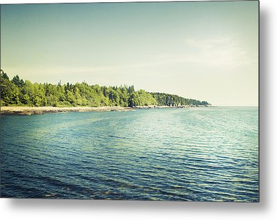 Acadia National Park Metal Print by Carolyn Cochrane