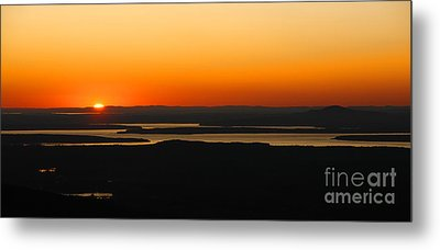 Acadia Sunset Metal Print by Olivier Le Queinec