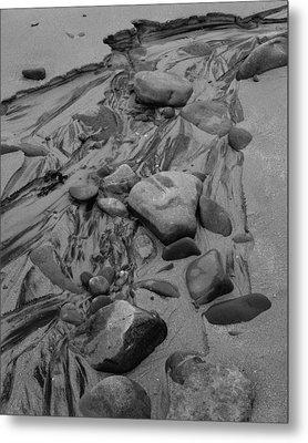 Achnahaird Beach Bw Metal Print