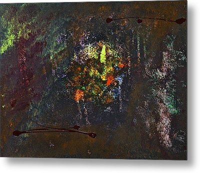 Metal Print featuring the painting Acid Burn by Tracey Myers