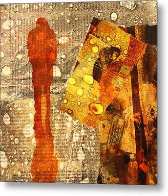 Acid Rain Metal Print by Nancy Merkle