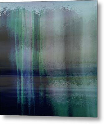 Acid Wash Metal Print