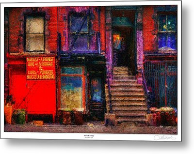 Acid With An Edge Metal Print by Lar Matre