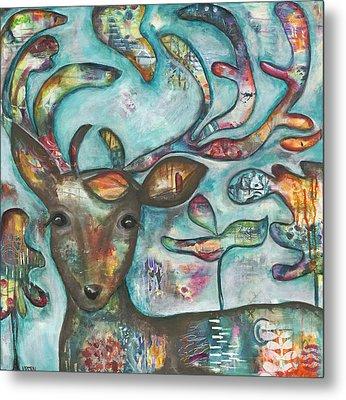 Acorn Metal Print by Kirsten Reed