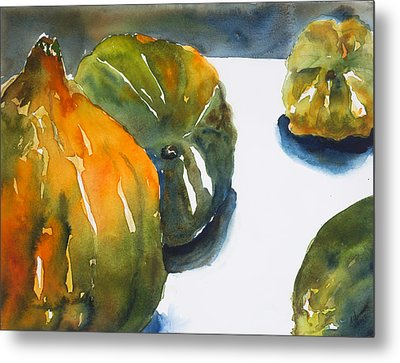 Acorn Squash Metal Print by Tom Simmons