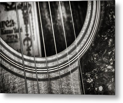 Acoustically Speaking Metal Print by Scott Norris
