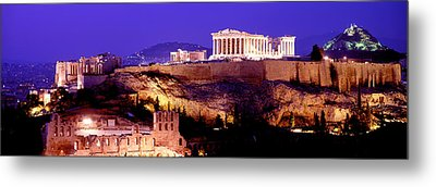 Acropolis, Athens, Greece Metal Print