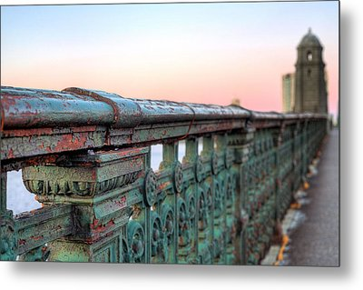 Across The Charles  Metal Print by JC Findley