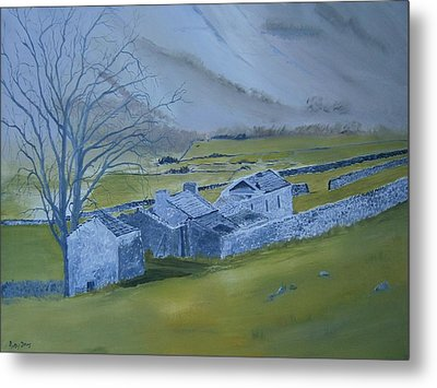 Across The Dales Metal Print by Andy Davis