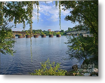 Across The Tennessee Metal Print by Paul Mashburn