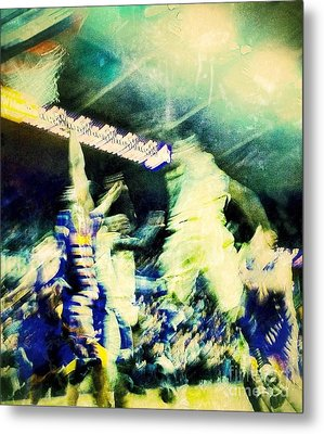 Action Metal Print by Ronnie Glover