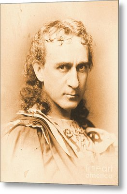 Actor Edwin Booth C1860 Metal Print by Padre Art