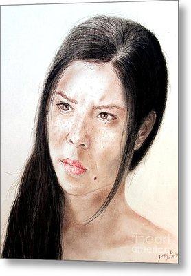 Actress And Beauty Jeananne Goossen Metal Print