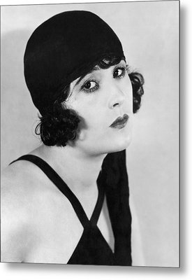Actress Margaret Livingston Metal Print by Underwood Archives