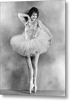 Actress Sally Starr Metal Print by Underwood Archives