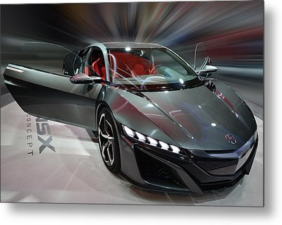 Acura Nsx Concept 2013 Metal Print