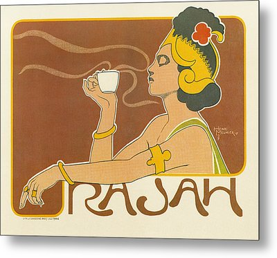 Ad Coffee, 1897 Metal Print by Granger