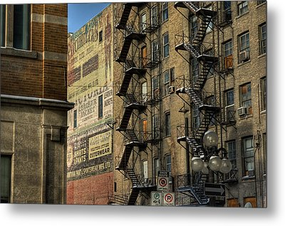 Ad Wall Metal Print by Bryan Scott