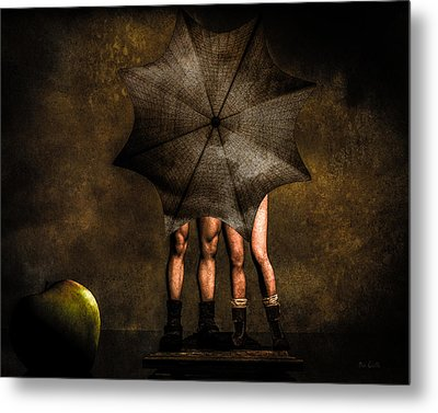 Adam And Eve Metal Print