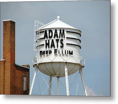 Metal Print featuring the photograph Adam Hats In Deep Ellum by Charlie and Norma Brock
