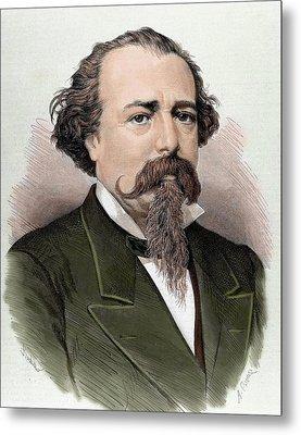 Adelardo Lopez De Ayala (1828-1879 Metal Print by Prisma Archivo