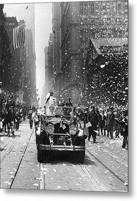Admiral Byrd Nyc Parade Metal Print