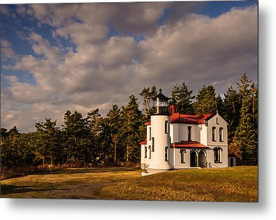 Admiralty Head Lighthouse Metal Print by Dan Mihai