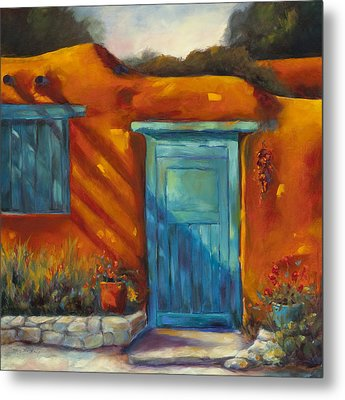 Adobe Charm Metal Print by Chris Brandley