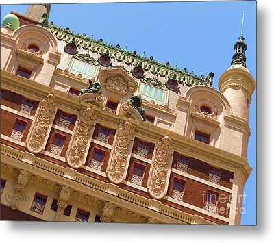 Metal Print featuring the photograph Adolphus Hotel - Dallas #1 by Robert ONeil