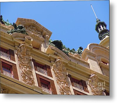 Metal Print featuring the photograph Adolphus Hotel - Dallas #2 by Robert ONeil