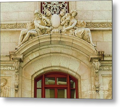 Metal Print featuring the photograph Adolphus Hotel - Dallas #4 by Robert ONeil