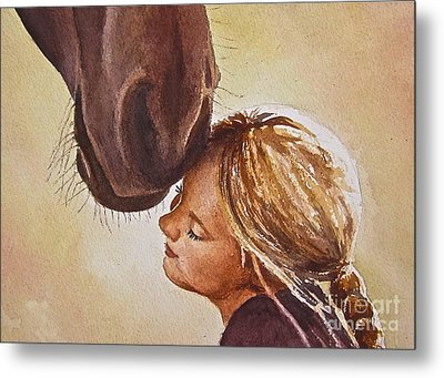 Adoration Metal Print by Andrea Timm