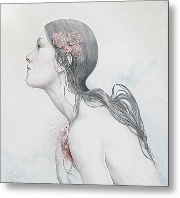 Adoration Metal Print by Diego Fernandez