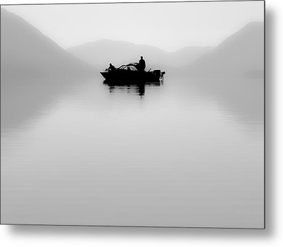 Metal Print featuring the photograph Adrift by Aaron Aldrich