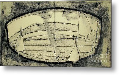 Adrift Archived Work 1of 10 Metal Print by Charlie Spear