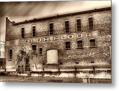 Adluh Flour Sc Metal Print by Skip Willits