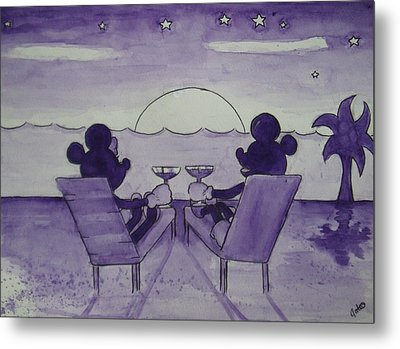 Adult Time Metal Print by Joanna Gates