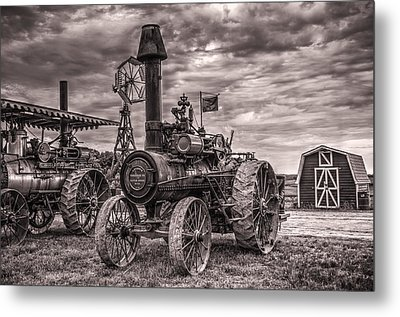Advance Steam Traction Engine Metal Print