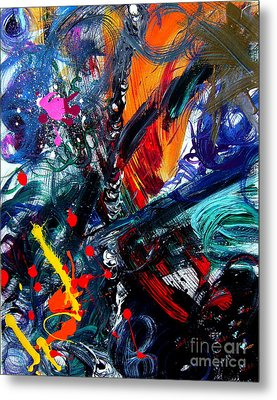 Metal Print featuring the painting Adventure by Christine Ricker Brandt